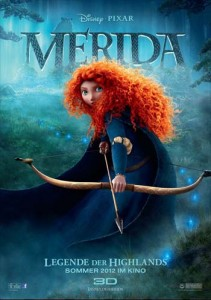 Plakat zum Kinofilm Merida