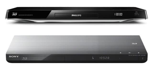 4k Blu-Ray Player Sony BDP-S790 und Philips BDP7700