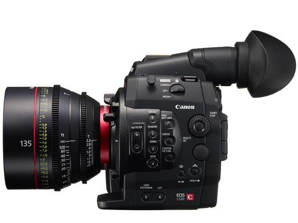 Canon EOS C500 Cinema Kamera mit 4K-Auflösung
