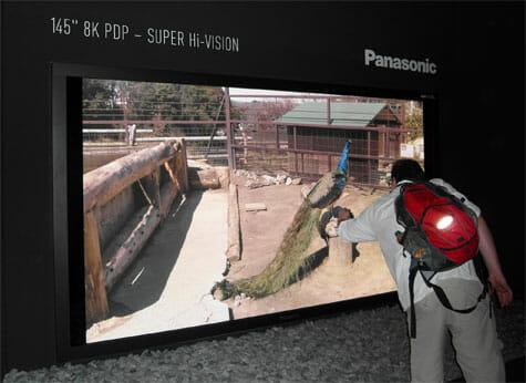 Panasonic 8K UHDTV Plasma