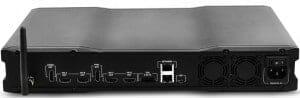 Redray Ultra HD Videoplayer von hinten