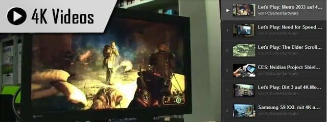 4K Gaming Videos