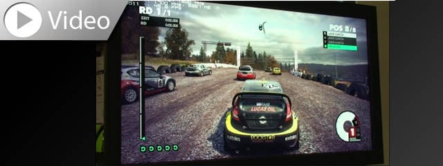 Dirt 3 Video 4K Eizo FDH3601