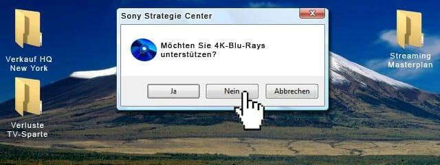 Sony 4K Bluray