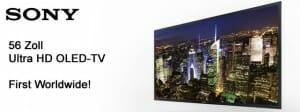 Sony 56 Zoll 4K OLED TV
