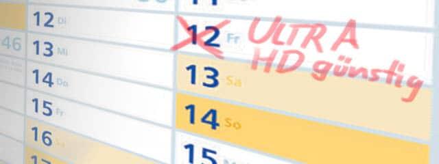 Ultra HD günstig