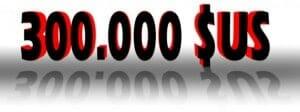 Westinghouse 300.000 Dollar für seinen 110 Zoll Ultra HD TV