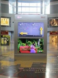 LG Electronics zeigt erste digitale Ultra HD-Werbetafel