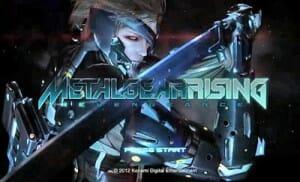 Metal Gear Solid Rising 4K