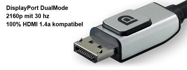Vesa DisplayPort Dualmode