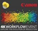 4K Workshop Event Canon