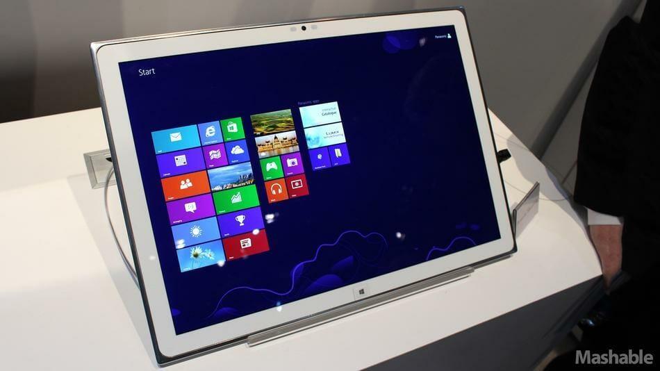 Panasonic 20 Zoll 4K-Tablet