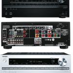 Onkyo AV-Receiver TX-NR727 von Vorne, Hinten und in silberner Ausführung