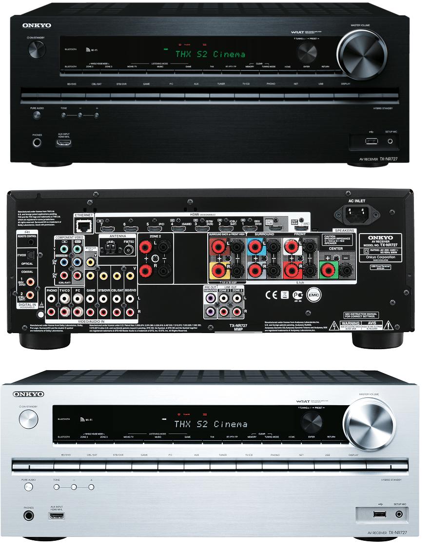 Onkyo AV Receiver TX-NR727