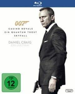 James Bond 007 - Casino Royale / Ein Quantum Trost / Skyfall (3 Blu Ray)