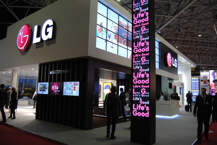 LG Digital Sinage Expo