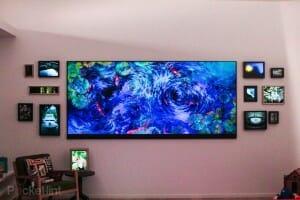 Microsofts 120 Zoll Widescreen Fernseher