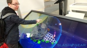 MyMultitouch 4K Display mit 84 Zoll