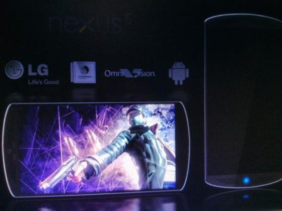 Nexus 5 Leaked Shot
