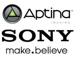 Partnerschaft Sony Aptina
