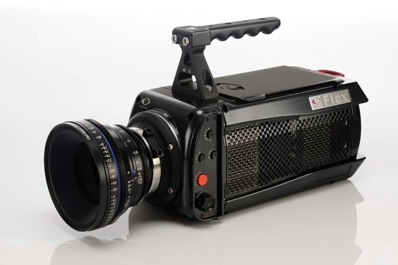 Phantom Flex 4K Kamera nimmt bis zu 1000 PFS in 4K-Auflösung auf
