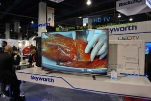 Skyworth 4K Fernseher mit 50 Zoll für 1.453 $US in China