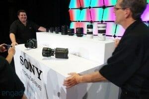 Sony 4K Kamera Prototypen