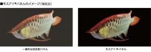 Sharp Moth Eye Technologie