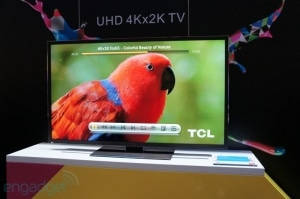 TCLs 4K Fernseher gibt es bald mit integriertem Google TV | Bild: engadget.com