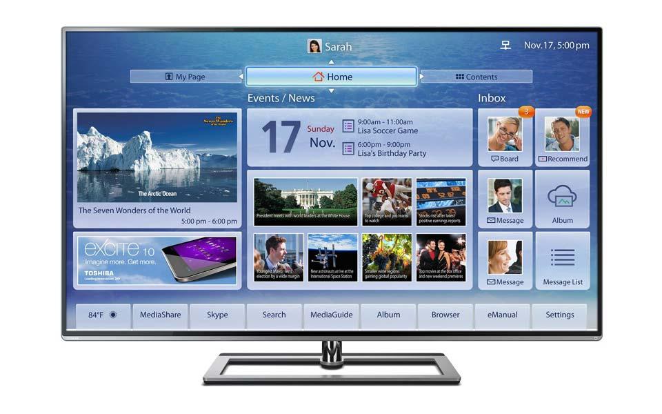 Samsung L9300 4K TV Frontansicht