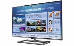 Samsung L9300 4K TV Seitenansicht