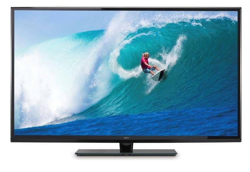 Seiki 4K TV mit 50 Zoll