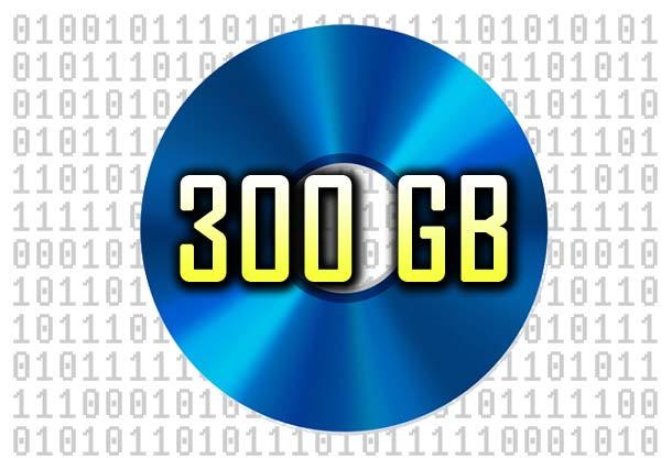 Sony und Panasonic arbeiten an einem optischen Datenträger mit 300 GB Speichervolumen