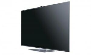 Samsung 55 Zoll 4K TV Seitenansicht F9090