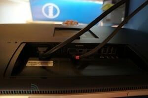 Dell UltraSharp 32 Anschlüsse