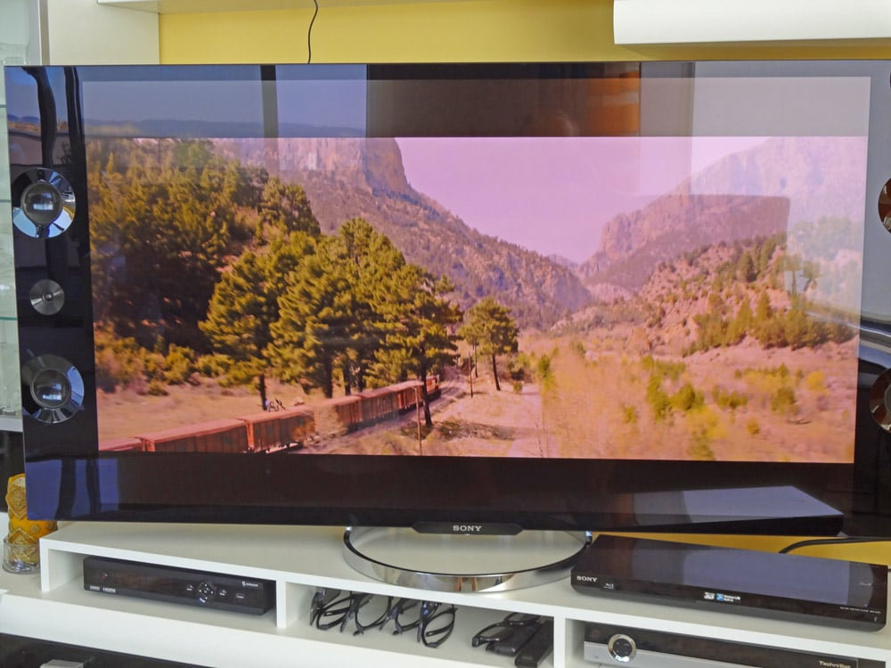 test zu sonys 55 und 65 zoll 4k fernseher erste. Black Bedroom Furniture Sets. Home Design Ideas