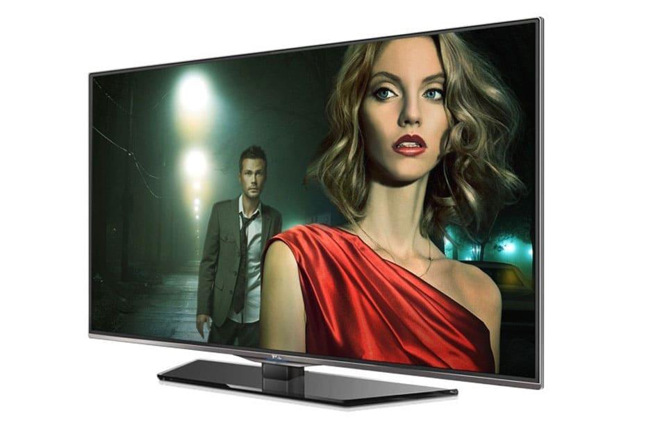 TCL 7E504D 4K Fernseher mit 50 Zoll - Seitenansicht