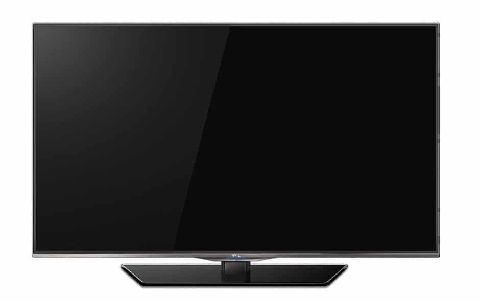 TCL 7E504D 4K Fernseher mit 50 Zoll - Frontansicht - Off