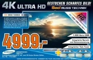 Angebot Saturn Samsung UE55F9090