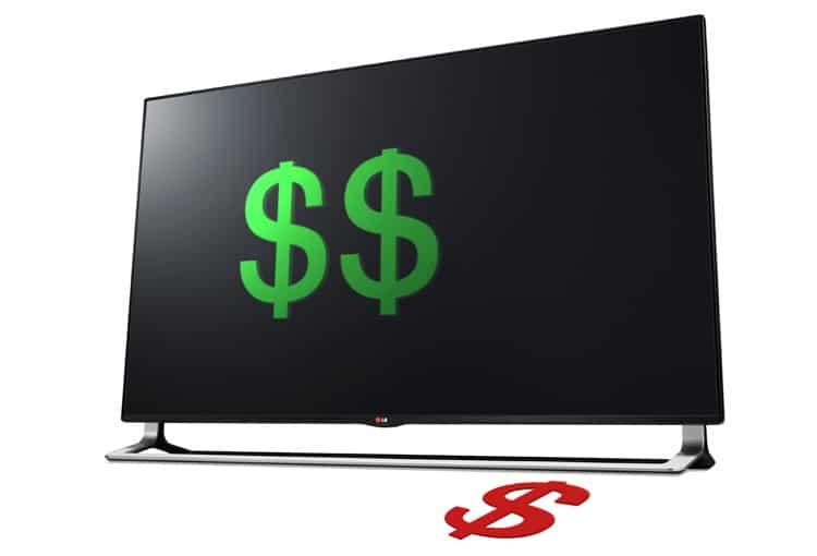 LG Preissenkung 4K Fernseher
