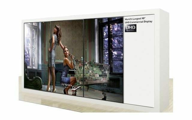Samsung 4K Videowand mit 96 Zoll