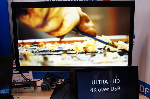 Displaylink überträgt Videosignale in Ultra HD (4K) via USB 3.0 Anschluss