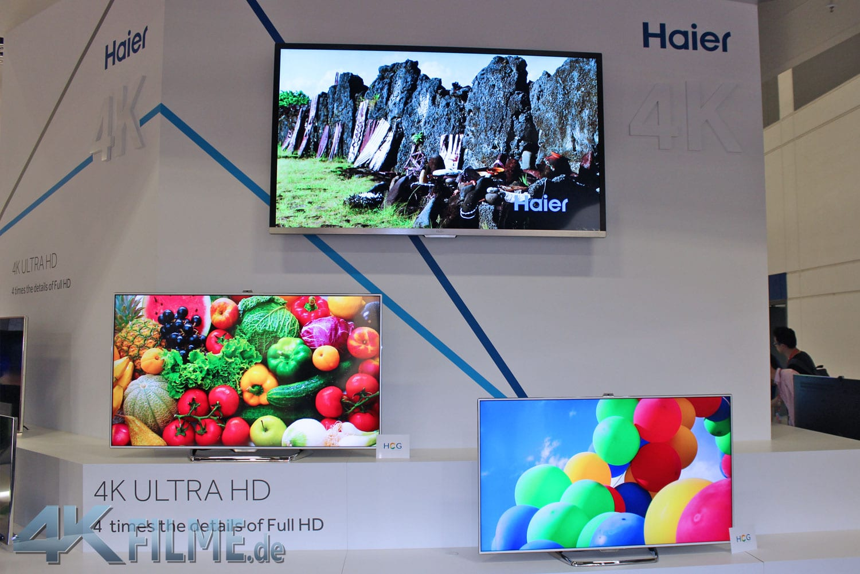 Haier 4K Ultra HD TVs mit High Color Gamut