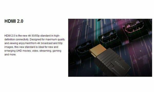 HDMI 2.0 Leak Panasonic