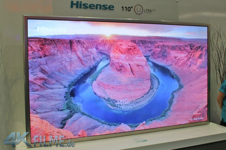 Hisense 110 Zoll 4K TV Prototyp