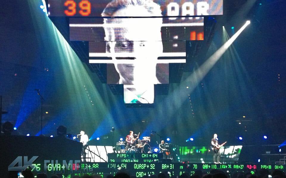 Muse Konzertfilm in Ultra HD