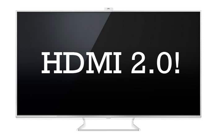 HDMI 2.0 Leak Panasonic