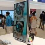 Samsung 4K Monitor auf dem Stand