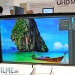 Samsung 4K Monitor mit Blendschutz