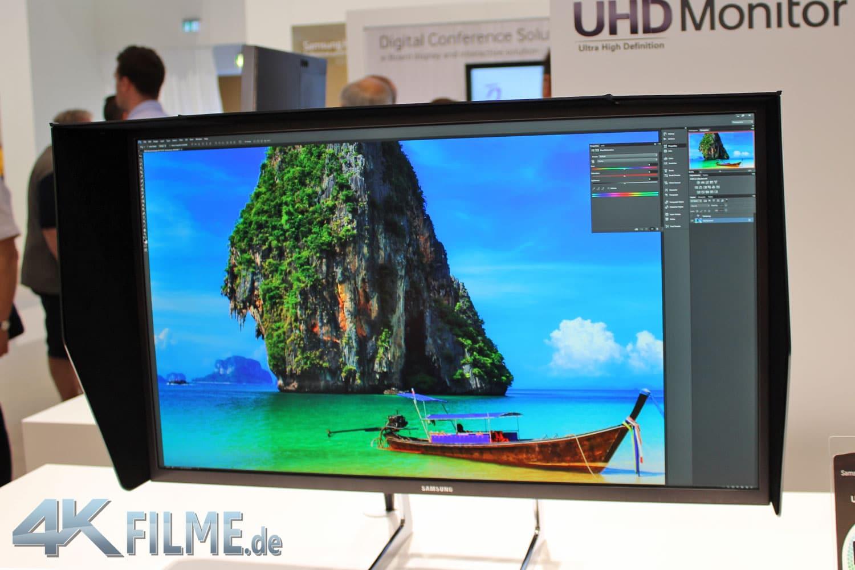 Samsung 4K Monitor Details